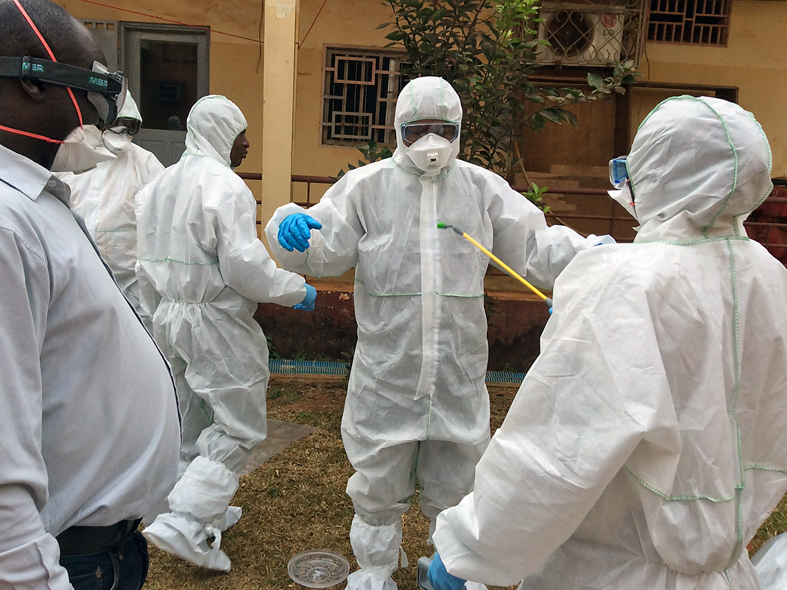 From Lab Coats To Hazmat Suits Iaea Trains Scientists To