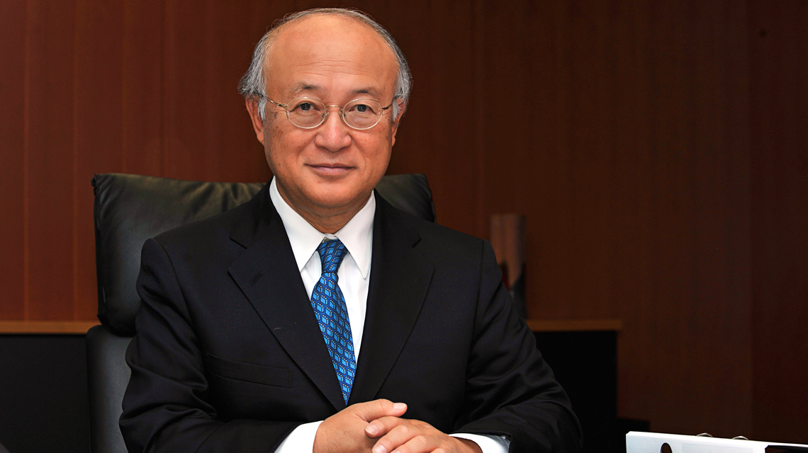 Director General Amano Highlights Role of Nuclear Power in World Government Summit, UAE