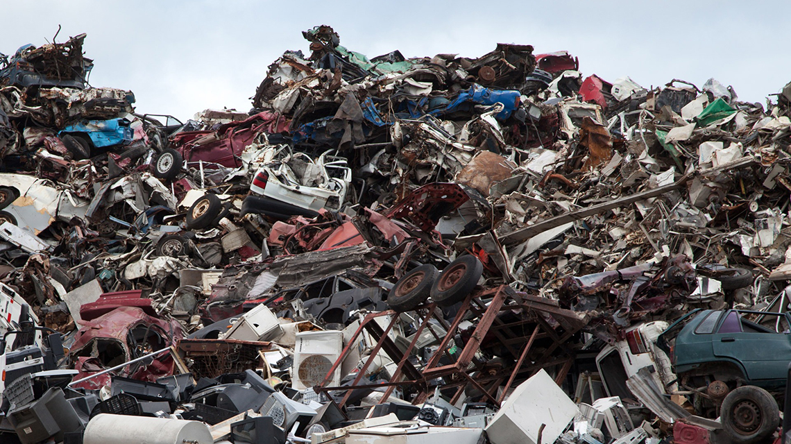 Behind the Scenes of Scrap Yards: IAEA Launches Online Tools on the Control  of Radioactive Material Inadvertently Incorporated into Scrap Metal   IAEA
