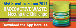 IAEA Scientific Forum 2014: Radioactive Waste: Meeting the Challenge - Science and Technology for Safe and Sustainable Solutions - App