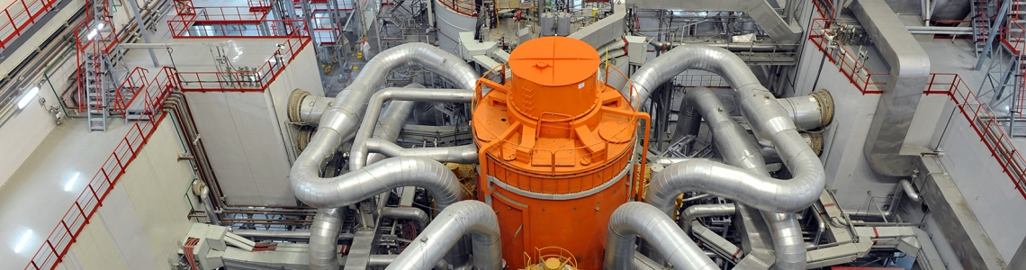 Russia's BN-800 sodium cooled fast reactor at the Beloyarsk Nuclear Power Plant