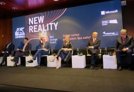 IAEA Director General Yukiya Amano at the Bled Strategic Forum, Slovenia. 5 September 2017.