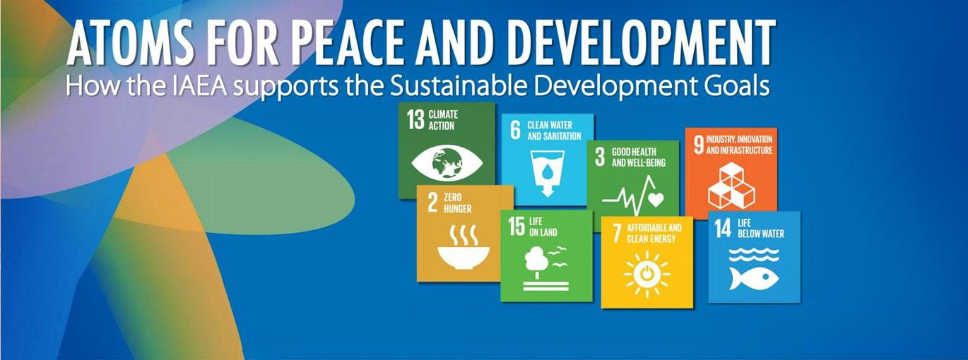 How the IAEA will contribute to the United Nations Sustainable Development Goals