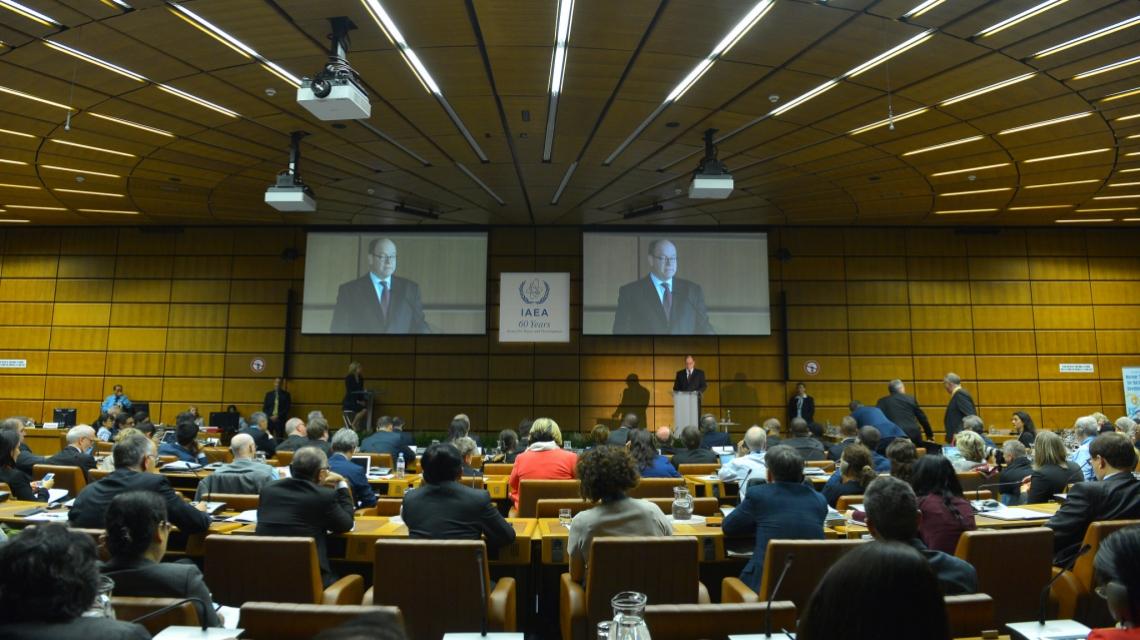 HSH Prince Albert II of Monaco delivers his opening statement