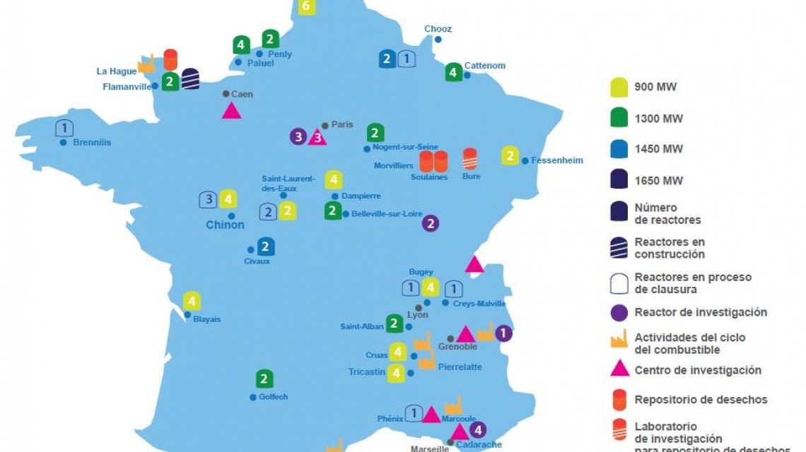 Lecciones de la gestión eficiente del ciclo del combustible nuclear por  parte de Francia | OIEA