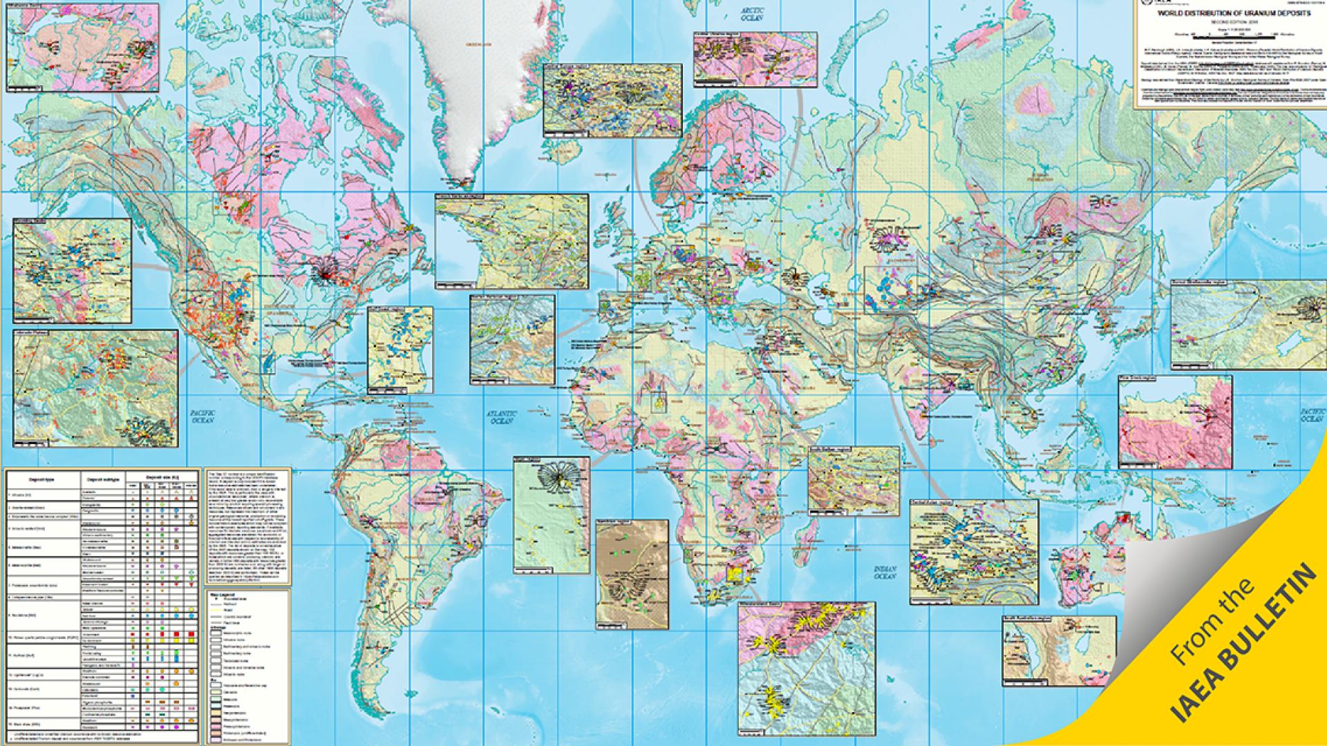 IAEA Unveils Unique World Uranium Map | IAEA