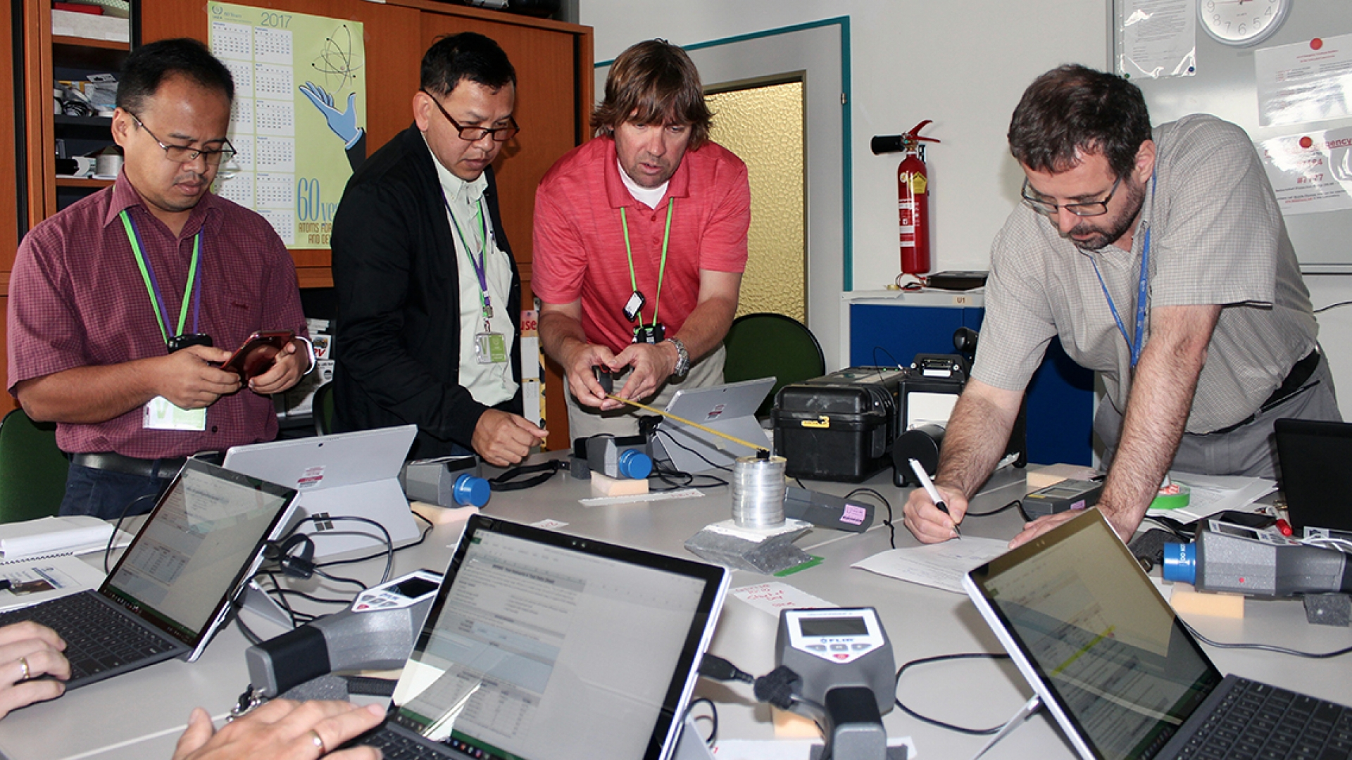 Workshop Aids Nuclear Security Experts In Testing And