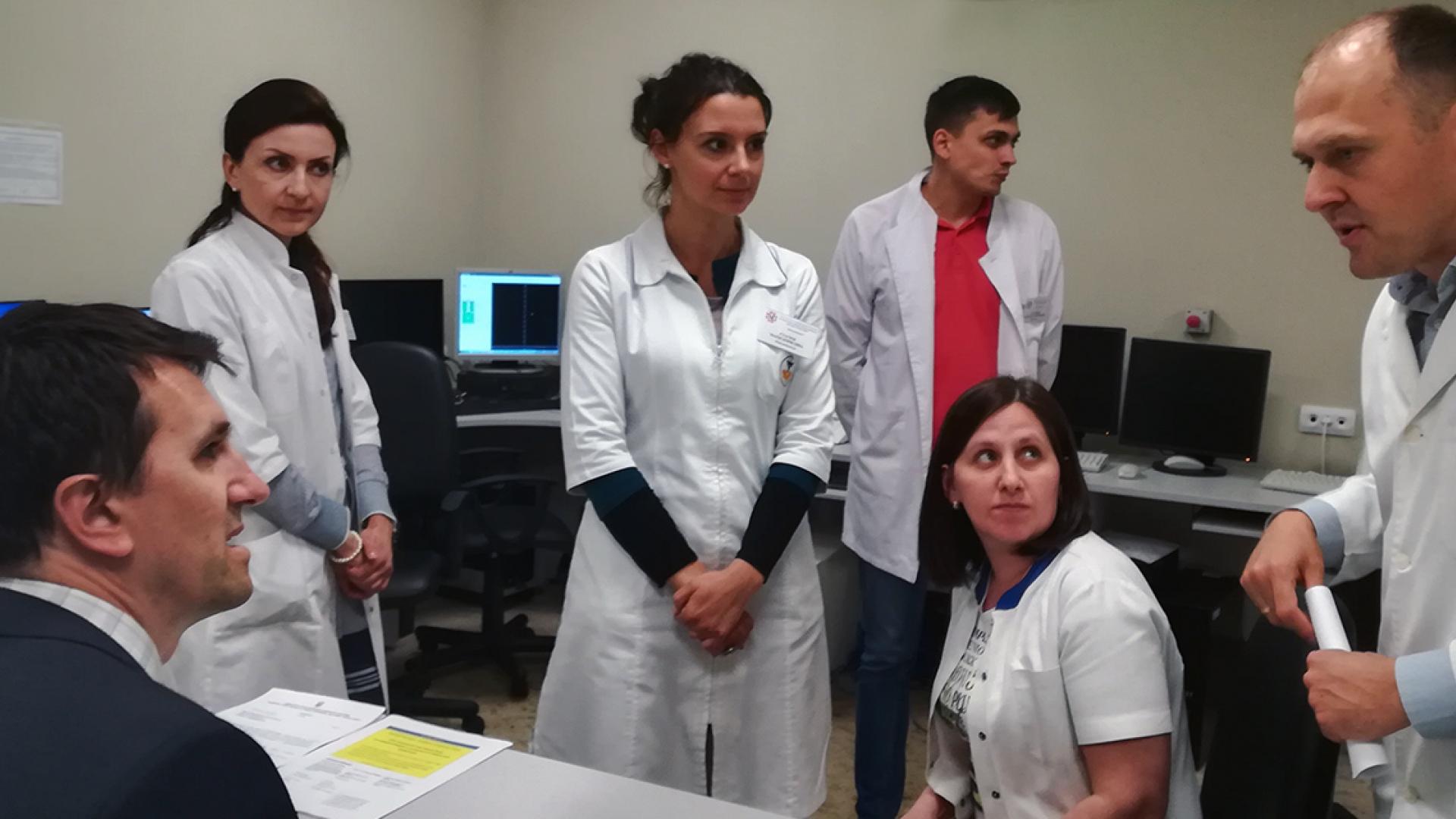 IAEA Leads Review of Ukraine's Cancer Control Programme | IAEA