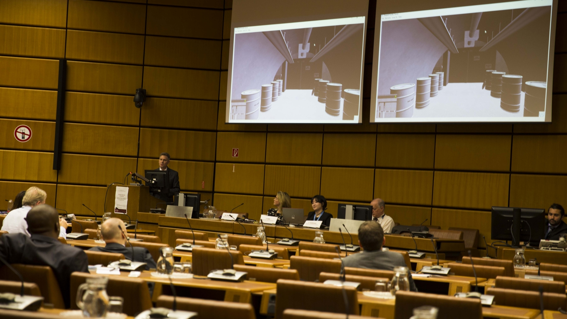 The virtual world of Shapash Nuclear Research Institute (SNRI) was  presented today on the sidelines of the 61st IAEA General Conference.