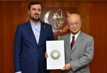The new Resident Representative of the Islamic Republic of Iran to the IAEA, Kazem Gharib Abadi, presented his credentials to IAEA Director General Yukiya Amano at the IAEA headquarters in Vienna, Austria, on 2 July 2018.