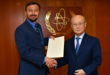 The new Resident Representative of Bosnia and Herzegovina to the IAEA, HE Mr Siniša Bencun, presented his credentials to IAEA Director General Yukiya Amano at the IAEA headquarters in Vienna, Austria, on 10 May 2019