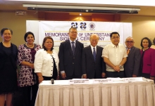 IAEA Director General Yukiya Amano was the guest of honour at the signing ceremony of the Memorandum of Understanding between the Department of Education and Department of Science and Technology on 8 February 2018 in Manila, Philippines.