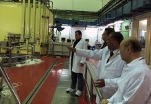 IAEA Director General Yukiya Amano tours the Research Reactor (ETRR-2) in Inshas, during his official visit to Egypt. 3 February 2019