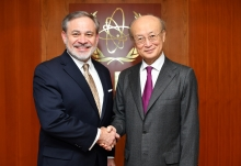 IAEA Director General Yukiya Amano met with Dan Brouillette, US Deputy Secretary of Energy at the Agency headquarters in Vienna, Austria on 13 February 2019
