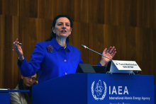 """<br><br>From entrepreneurship to Director of the Division of Budget and Finance at the IAEA and a continued career in the United Nations, Bettina Tucci Bartsiotas is a quintessential example of professionalism and perseverance. <br><br> Bettina established and ran her own audit and accounting business in Washington DC for 10 years, focusing on efficiency and results-orientation. In every career choice she has made, Bettina says, she was guided by her abilities rather than by gender stereotypes. <br><br> Her experience in the IAEA, and dedication to the multilateral work led Bettina to senior level positions as Assistant Secretary General, Controller of the United Nations, and Director of UNICRI.<br><br> Bettina's advice to young women and future leaders is to """"make gender your strength, because we can bring to the table traits and characteristics that are needed for a balanced working environment."""""""