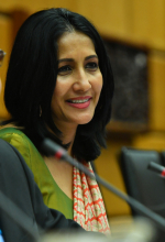 """<br><br>Her name is Aruni Wijewardane, but in diplomatic circles, she is known as Her Excellency Ambassador Wijewardane of Sri Lanka. At the IAEA, she held the role of Director of the Secretariat of the Policy-making Organs, playing a key role in ensuring the IAEA continued to realize its mandate.<br><br> Being the first woman in a specific leadership role is an identity those women are likely to carry with heightened awareness, she says. As a leader, she adds, awareness is a key attribute, because you set standards for others and there is generally a high expectation from you both in ethical and professional terms. <br><br> Currently working in the top management of the Foreign Ministry of Sri Lanka as Additional Secretary for  Multilateral Affairs, Aruni's advice to young women and future leaders is that """"leadership does not end with reaching a senior position – it is an opportunity for you to bring your unique personal contribution to that position."""""""