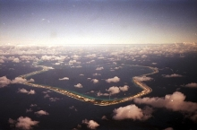 At the request of the French government, the IAEA carried out an environmental assessment at Mururoa and Fangataufa Atolls in the South Pacific where nuclear tests were conducted from 1966 to 1996. 1996. Please credit IAEA/ MOUCHKIN Vadim