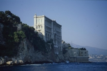 The IAEA's Marine Environment Laboratories were located in Monaco's Oceanographic Institute building before moving in 1988 to a new location. 1998. Please credit IAEA