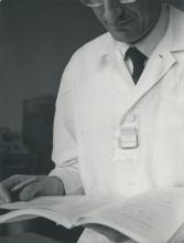IAEA laboratory, Seibersdorf, Austria. October 1961. Please credit IAEA