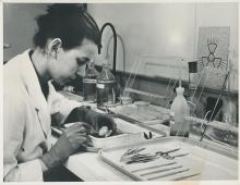 Work at the IAEA Marine Environment Laboratories, Monaco. 1960-1966. Please credit IAEA
