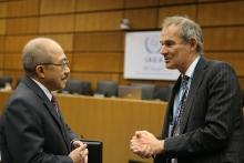 Delegates at the Board of Governors Meeting. IAEA, Vienna, Austria, 17 November 2016.