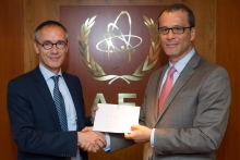 The new Resident Representative of the Netherlands to the IAEA, HE Mr Albert Hendrik (Aldrik) Gierveld, presented his credentials to Cornel Feruta, IAEA Acting Director General at the Agency headquarters in Vienna, Austria, on 20 August 2019