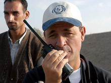An IAEA inspector in Iraq. Photo Credits: Pavlicek/IAEA