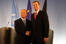 On 8 October 2010, IAEA Director General Yukiya Amano and German Foreign Minister, Guido Westerwelle, met in Berlin and briefed the press following their discussions.
