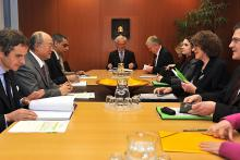 On 21 February 2011, the Sub-Committee of the German Parliament on Disarmament, Arms Control and Non-Proliferation led by Ms. Uta Zapf, Social Democratic Party of Germany, met IAEA Director General Yukiya Amano at the IAEA Headquarters in Vienna, Austria.