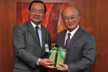 On 9 May 2011, H.E. Dato' Sri Peter Chin Fah Kui, Minister for Energy, Green Technology and Water of Malaysia, met IAEA Director General Yukiya Amano at the IAEA's headquarters in Vienna, Austria.