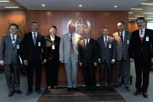 On 8 June 2011, H.E. Mr. Mykola Azarov, Prime Minister of Ukraine, met IAEA Director General Yukiya Amano at the IAEA's headquarters in Vienna, Austria.