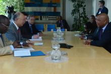 On 25 April 2013, His Majesty King Letsie III of Lesotho and Her Majesty Queen Masenate Mohato Seeiso, met IAEA Director General Yukiya Amano during the King and Queen's visit to the IAEA headquarters in Vienna, Austria.