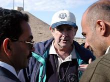 Inspectors prepare for checks at Al Atheer/Moutasil. Photo Credits: Pavlicek/IAEA
