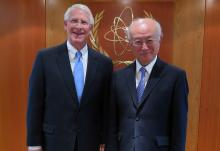 IAEA Director General Yukiya Amano met with United States  Senator from Mississippi, Roger Frederick Wicker, on 25 February 2016 at the IAEA headquarters in Vienna, Austria.