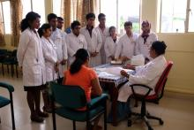 Nuclear medicine involves the use of small quantities of radioactive substances to diagnose, treat and manage illnesses, including cancer. Every year, around 200 nuclear medicine students from the Faculty of Medicine of the University of Peradeniya have the opportunity to see the doctor and her team at work.