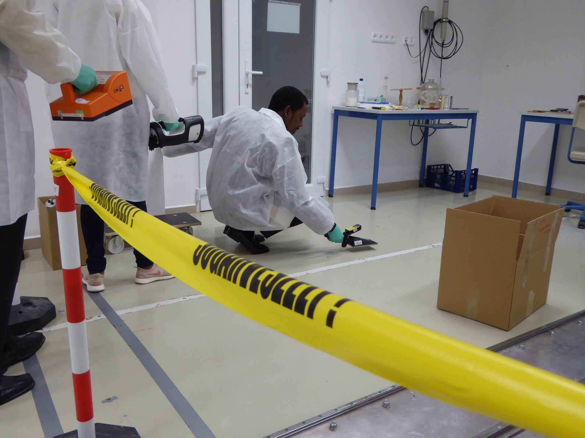 Crime Scene To Court Room Implementing Nuclear Forensic Science Iaea