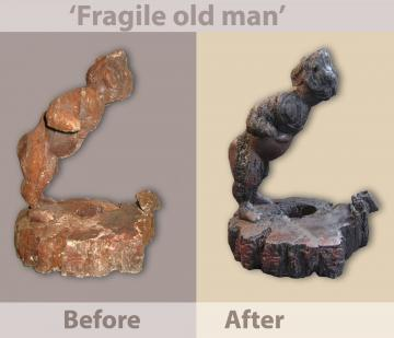 Scientific Forum 2015: Mexico and France Save 2000-year-old 'Fragile Old Man' Sculpture Using Nuclear Techniques