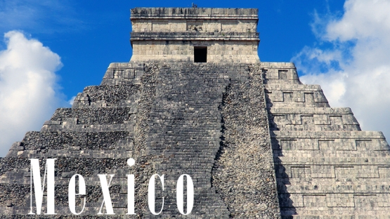 DDG-TC's Official Visit to Mexico, February 2017.      Photo © Reinhard Link, Mexico - Chichén Itzá, the Kukulcán pyramid, 12/9/2015