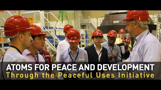 Atoms for peace and development