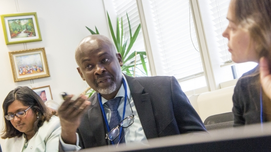 Prebo Barango, Medical Officer for the Inter-Country Support Team for Eastern and Southern Africa at the World Health Organization
