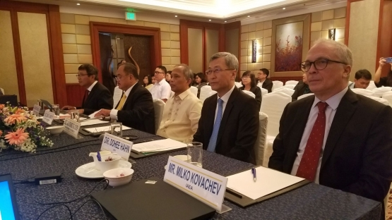 Image of officials attending a meeting.
