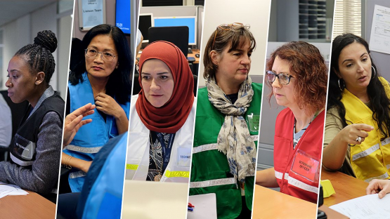 Women at the IAEA volunteer to acquire and maintain emergency response certification in the IAEA's Incident and Emergency System (Photo: IAEA)