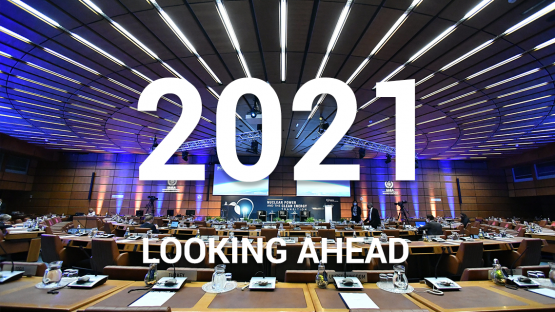 Looking Ahead: Important 2021 Events at the IAEA