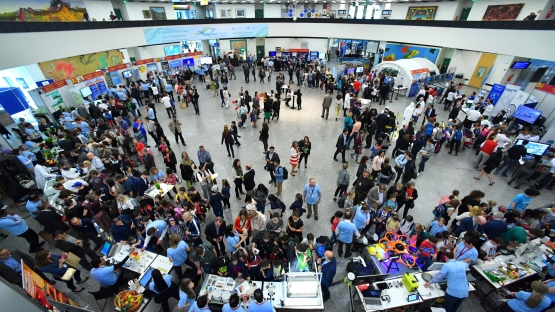 Over 1600 visitors flocked to the VIC to learn about nuclear science