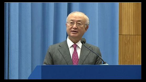 IAEA Director General Yukiya Amano at World Cancer Day 2015