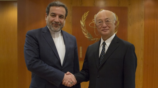 IAEA Director General Meets Iran s Deputy Foreign Minister