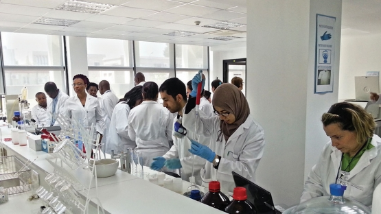 Latin America and the Caribbean Food safety laboratories