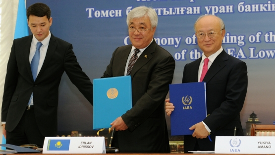 IAEA and Kazakhstan Sign Agreement to Establish Low Enriched Uranium Bank