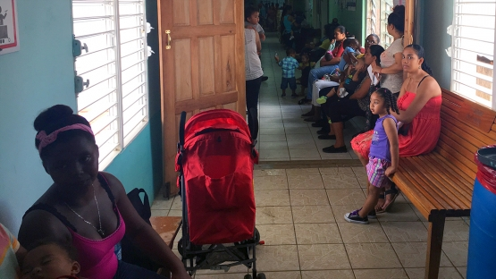 Cancer patients in Belize