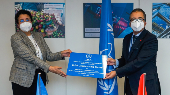 Moroccan Nuclear Institute, IAEA Extend Partnership to Help the Spread of Nuclear Techniques in Africa